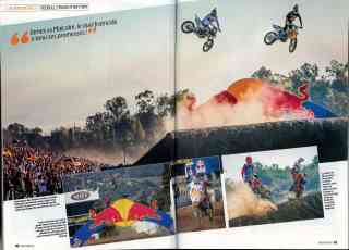 First RedBull Straight Rhythm - Moto Verte 2014