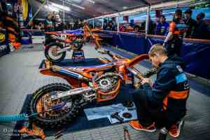 KTM Factory Team supercross Photography