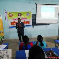 NSS Cell orgainised One Day Workshop on Personality Development