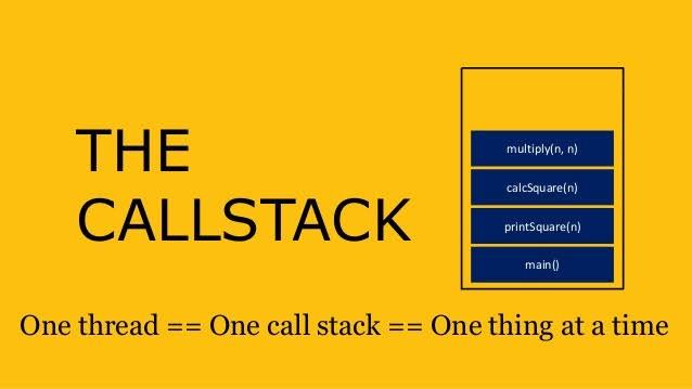 javaScript call stack