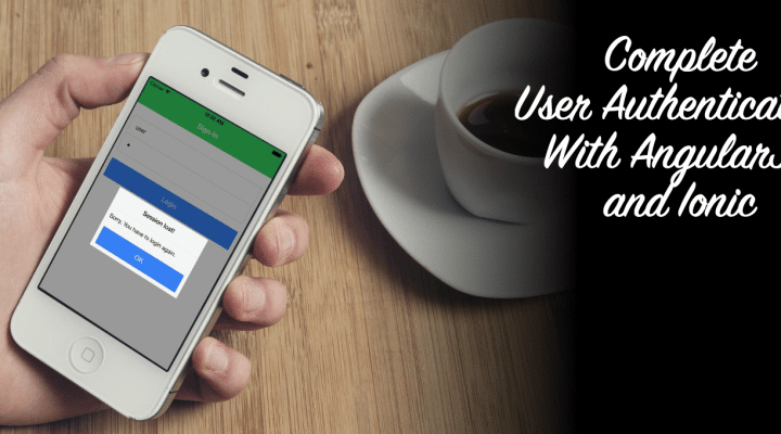 AngularJS User Authentication Inside Your Ionic App