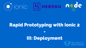 Rapid Prototyping with Ionic 2 and Node.js – Part 3