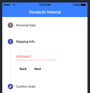 Getting Started with Angular Material in Ionic 4 - Devdactic