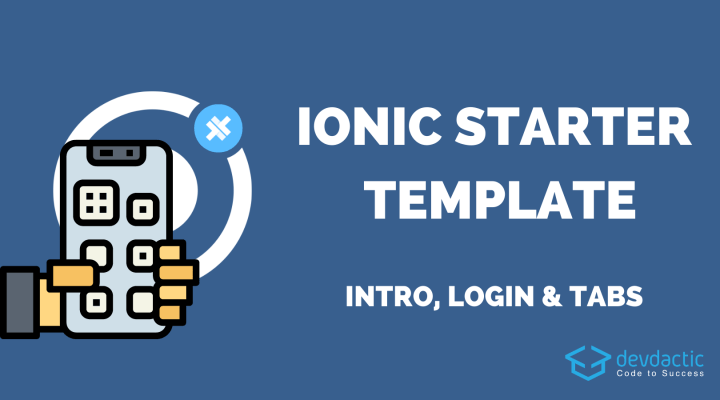 Ionic 5 App Navigation with Login, Guards & Tabs Area