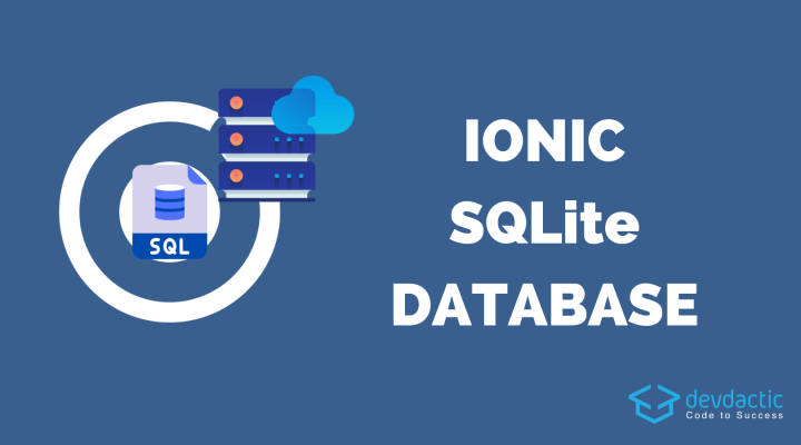Building an SQLite Ionic App with Capacitor