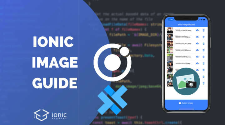 The Ionic Image Guide with Capacitor (Capture, Store & Upload)