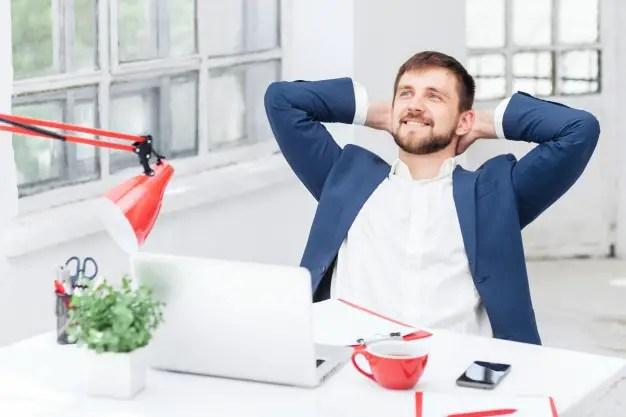 male office worker resting 155003 6672
