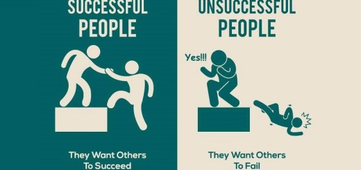 How do successful people outshine as compared to unsuccessful people