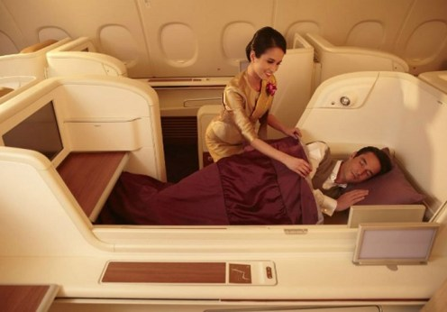 8 High class First class cabins in Airlines around the world