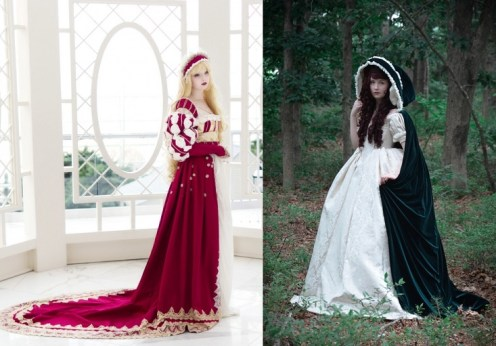 If fairy tales could be made into stunning dresses...this 18 year old designer sure has got something to boast about!