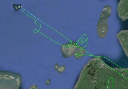 A bored pilot takes a detour to create amazing art in the sky!
