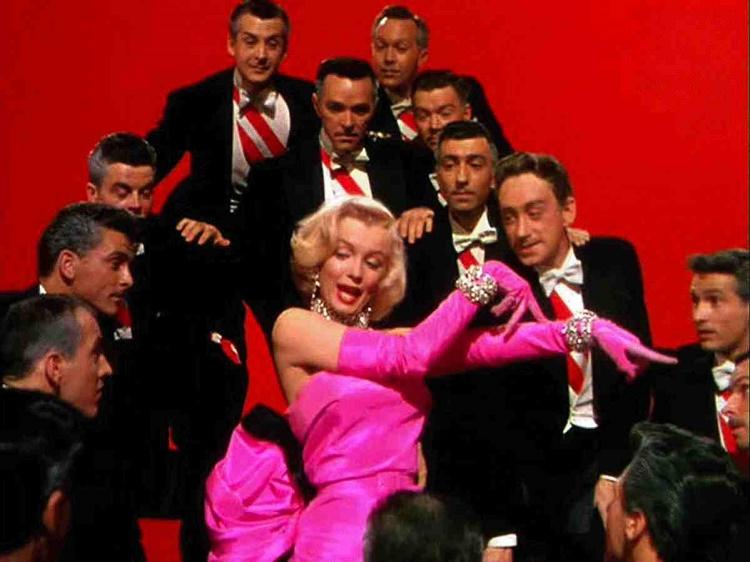 Monroe's Hot Pink Dress