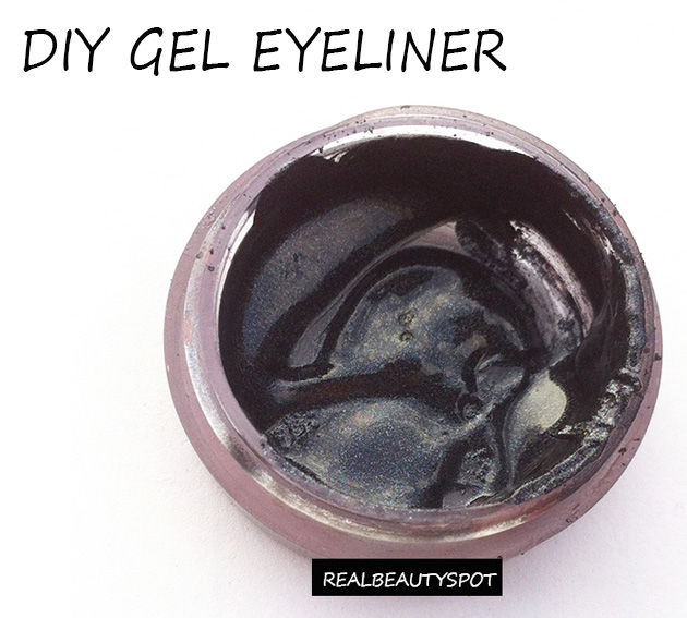 Making your own gel eyeliner at home