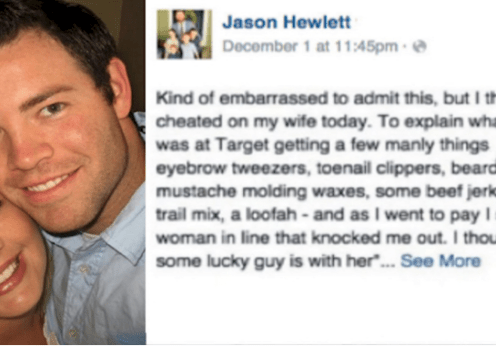 This man thought he was cheating on his wife but his Face book confession will shock you
