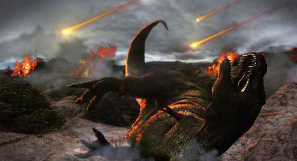 Dinosaurs existed on earth
