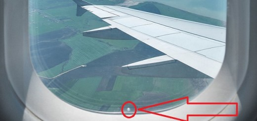 Do you know why there are these small holes in airplane windows?