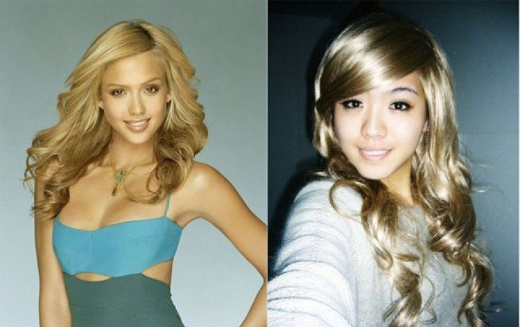 Girl who looks like Jessica Alba