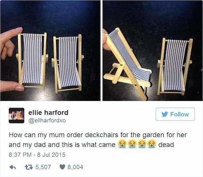 The Perfect Deck Chair