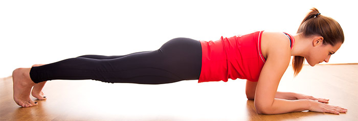 Plank Strengthens your back