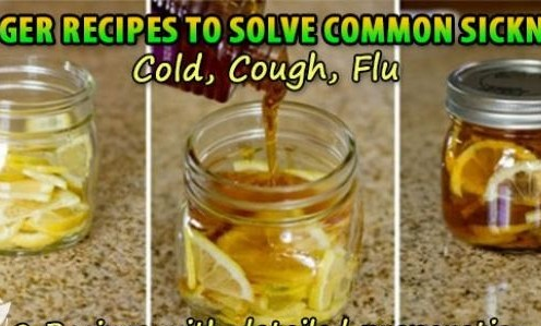 Say goodbye to Cough, Cold and common flu using this simple ginger and lemon recipe