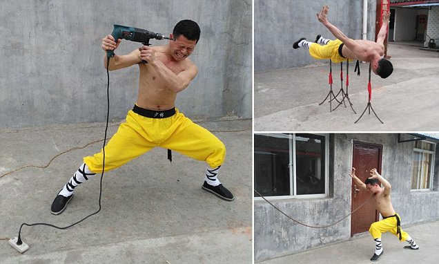 Shaolin monk with magical powers