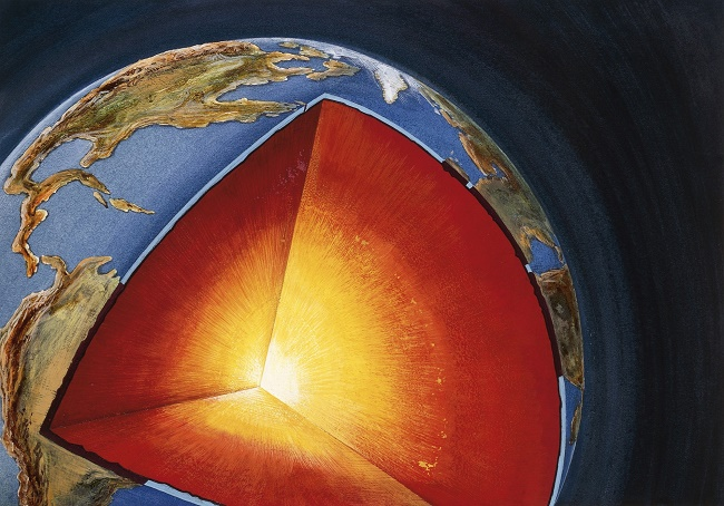 Incredible Earth's latest mystery