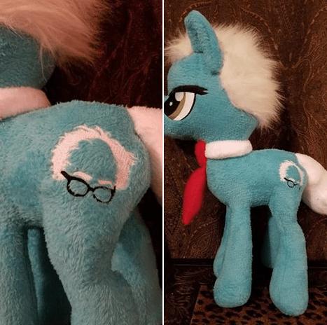 My little Bernie pony