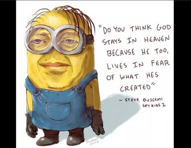 Steve Buscemi Minion