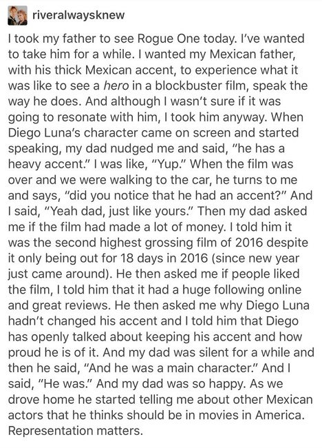 Diego Luna is touched deeply