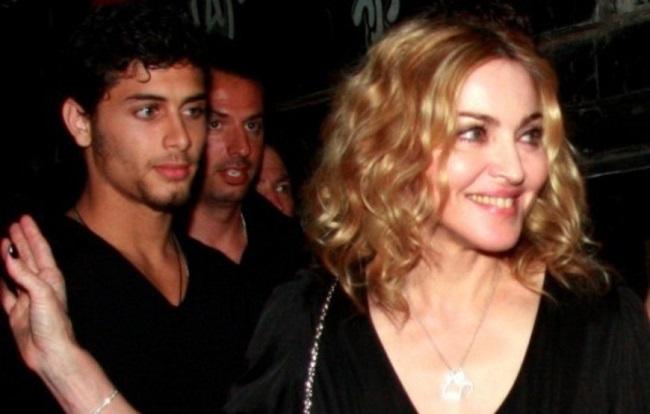 Madonna dated Jesus Luz