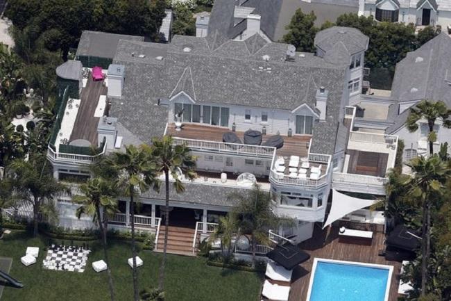 Justin Bieber la mansion