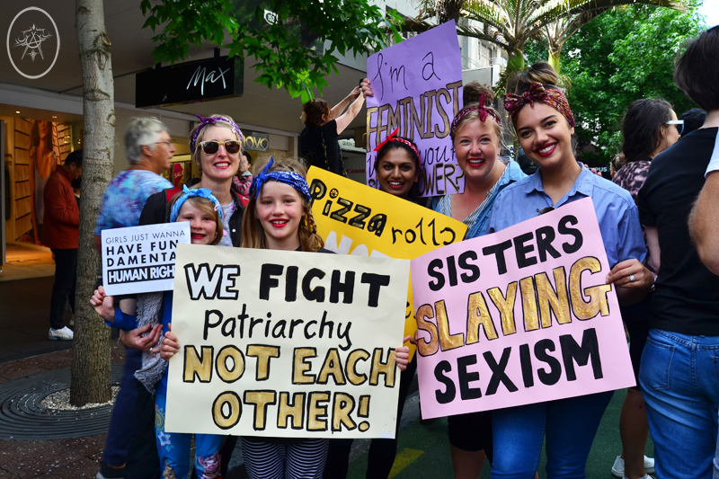 TTW: I Marched in Auckland's Women's March