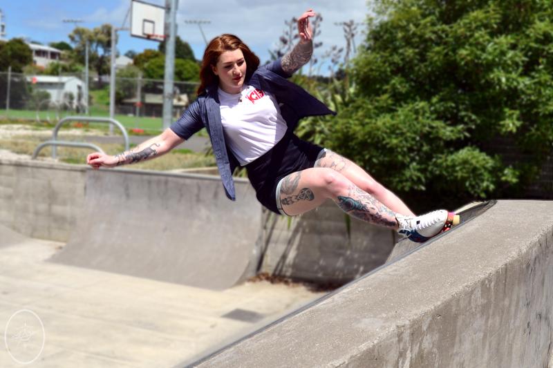 Rosie The Rollerskater