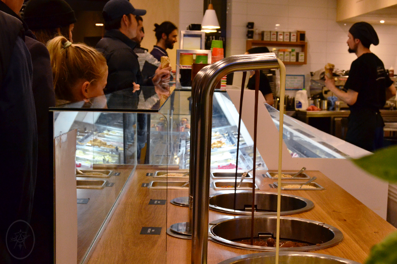 Chocolate Fountains at Patagonia Chocolates Queenstown | Devel