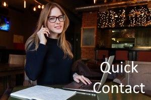 Quick Contact SEO Service provider company in Surat
