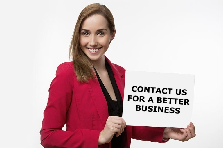Contact us for a better business