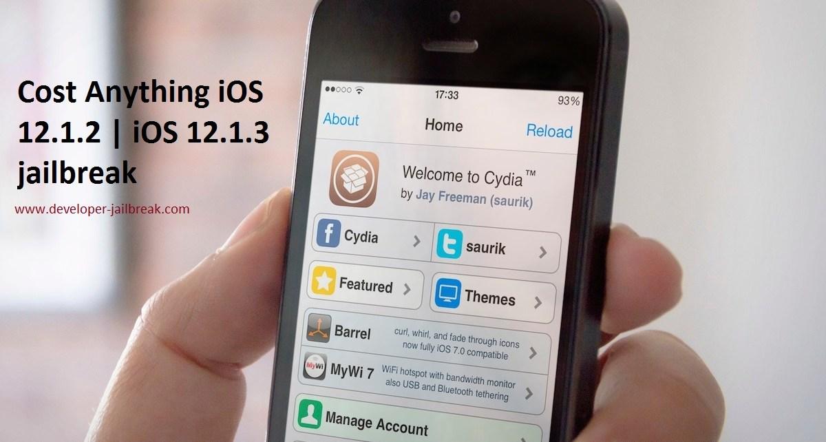 Cydia iOS 12.1.3