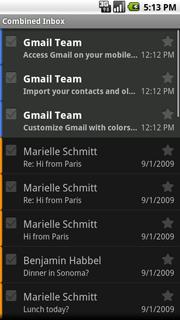 Συνδυασμός εισερχομένων - emails