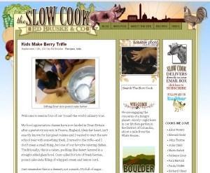 The Slow Cook current site