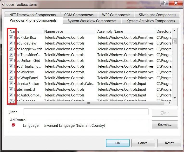 Telerik RadControls for Windows Phone – Article #2 - How to