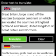 Babylon Translator for Windows Phone with more than 75 languages