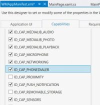 UnauthorizedAccessException when using PhoneCallTask in Windows Phone 8