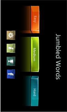Jumbled Words for windows phone 8