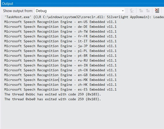 How to Retrieve the Installed Speech Recognizers in Windows Phone?