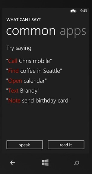 Launching your Windows Phone App using Voice Commands