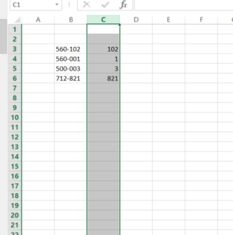 How to Move Columns in Excel ?