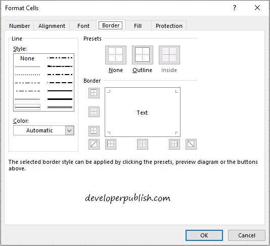 Format Cells in Microsoft Excel