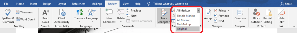 How to Track Changes in Microsoft Word?