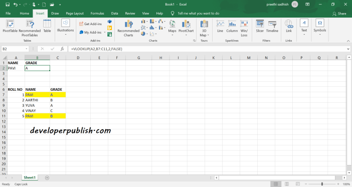 Vlookup -  First Match