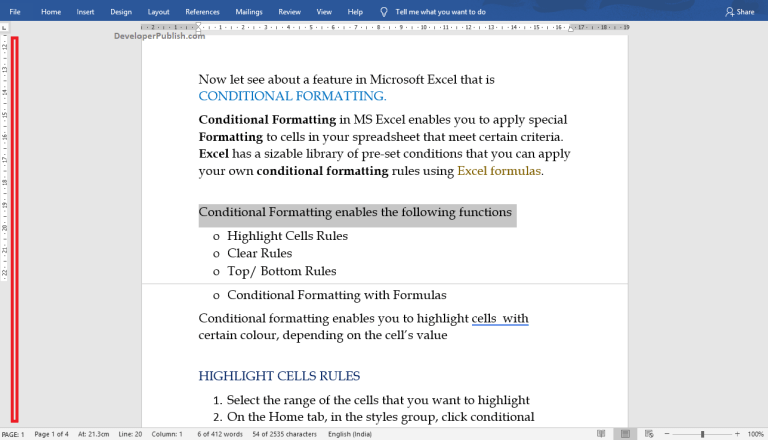 How to Remove Text in Word?